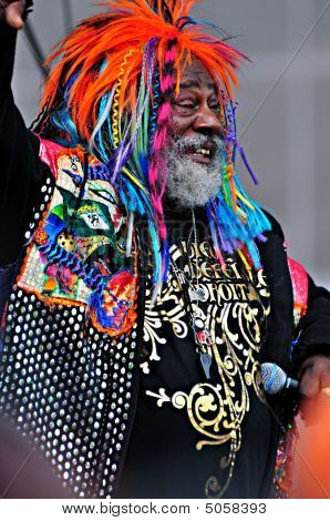 George Clinton At Indianapolis 500
