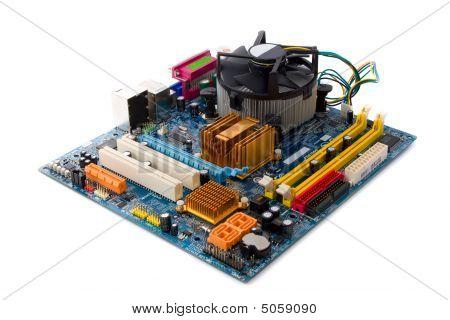 Placa base del ordenador