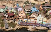 pic of popeye  - Popeye Village at Anchor Bay in Malta - JPG
