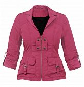 pic of jupe  - red jacket - JPG