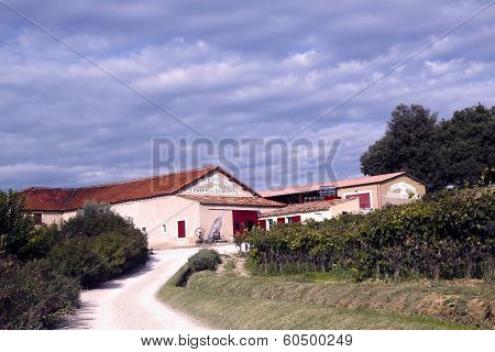 Chateau la Dorgonne winery in Provence, France