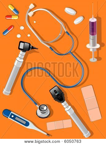 Medical tools and supplies