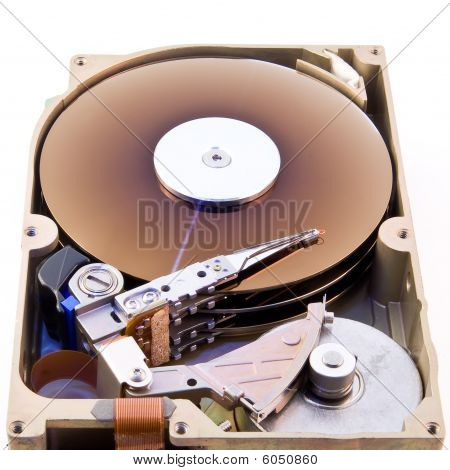 Hard Disk Without Cover