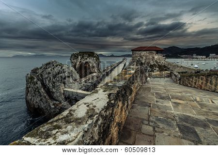 Breakwater Castro Urdiales