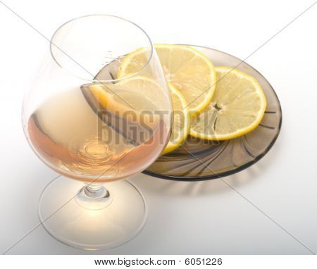 Cognac And Lemon.
