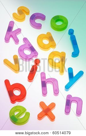 Scattered Fridge Magnets. Letters