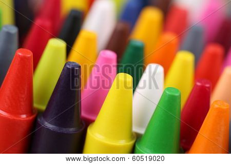 Crayons For Painting For Children In Kindergarten