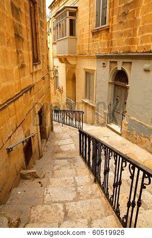 Street In Birgu.