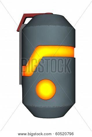 Sci-fi Thermal Detonator