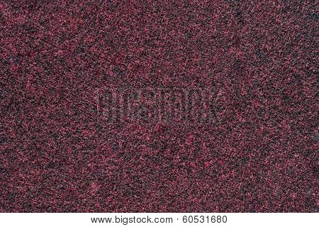 Texture Of Red-black Fleecy Fabric