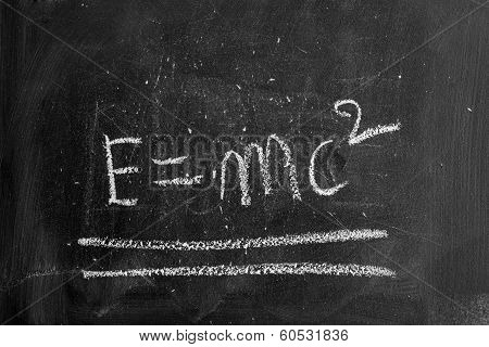 Blackboard Chalk as the background