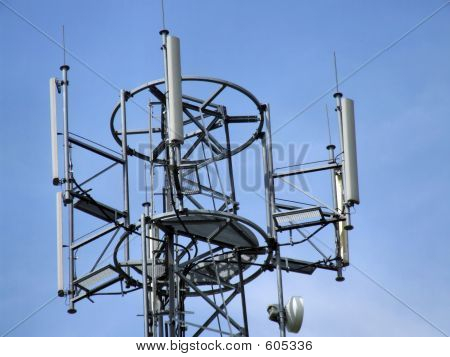 Cell Tower Top Antennae