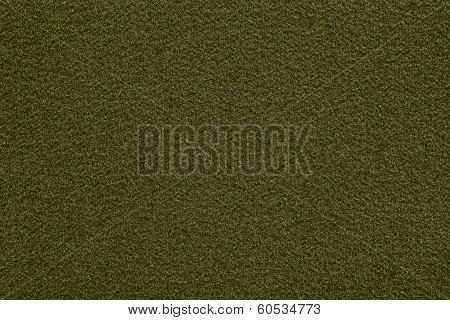 Fleecy Texture Of Green Color