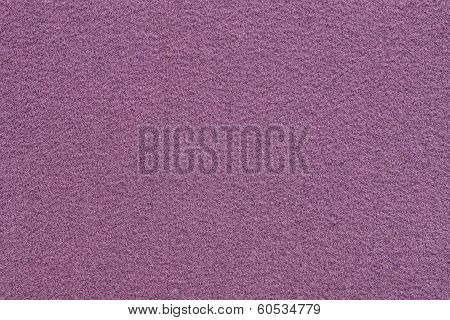 Fleecy Texture Of Lilac Color