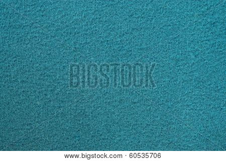 Fleecy Texture Of Azure Color