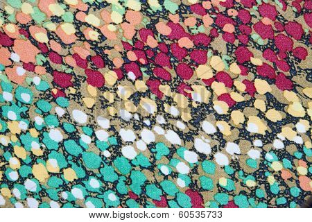Texture Of Motley Fabric