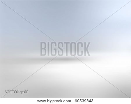 Soft blue background horizon