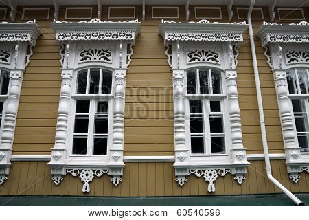 Windows With Architraves