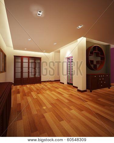 cabinet hall