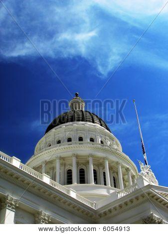 Capitol Building In Sacramento, Ca