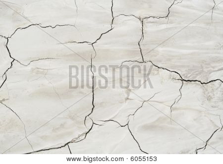 Crack Soil Texture As Ecocatastrophe Background