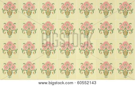 Tiles Peranakan style