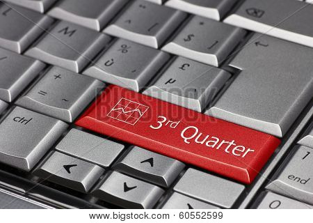 Computer Key - 3Rd Quarter