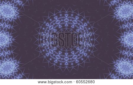 Background With Luminous Pattern