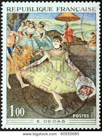 Degas Stamp