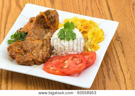 Cuban Cuisine: Stewed Lamb Dish