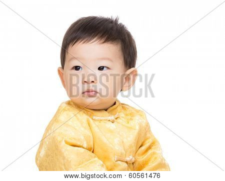 Chinese baby boy portrait