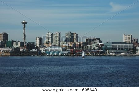 Seattle Skyline With Space Needle