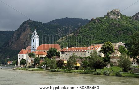 Duernstein at river Danube (Wachau, Lower Austria)  03