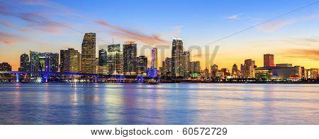 Panoramic Sunset, Miami