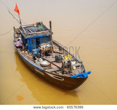 River boat in Hoi An