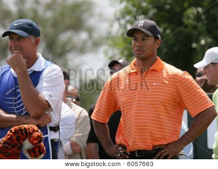 Tiger Woods at WGC championship, Doral, Miami, 2007