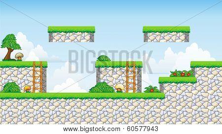 2D Tileset Platform Game.eps