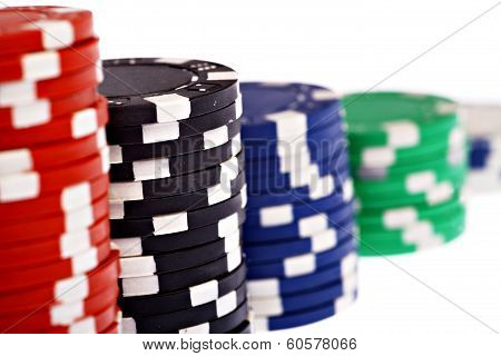 Detail With Poker Chips