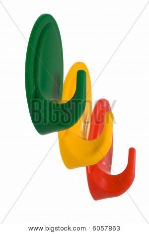 Multi-coloured Hooks