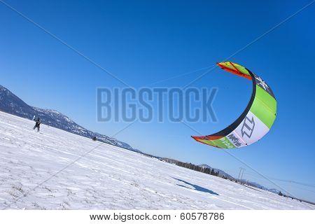 Kite Low To The Ground.