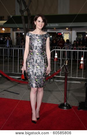 LOS ANGELES - FEB 24:  Michelle Dockery at the