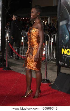 LOS ANGELES - FEB 24:  Lupita Nyong'o at the