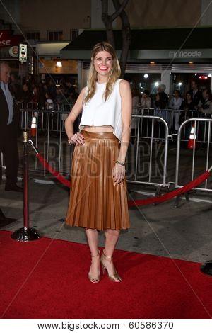 LOS ANGELES - FEB 24:  Lauren Benz Phillips at the