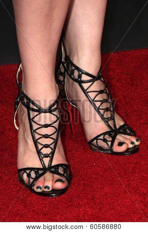 LOS ANGELES - FEB 24:  Jessica De Gouw at the