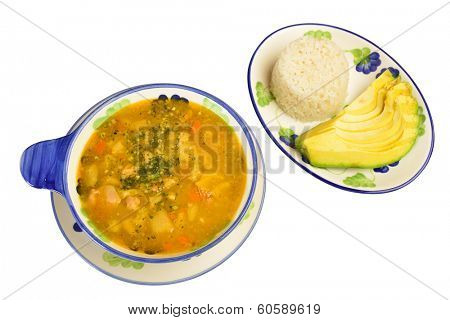 Menudo. Colombian cuisine.