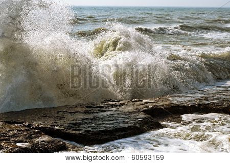Storm On The Caspian Sea.
