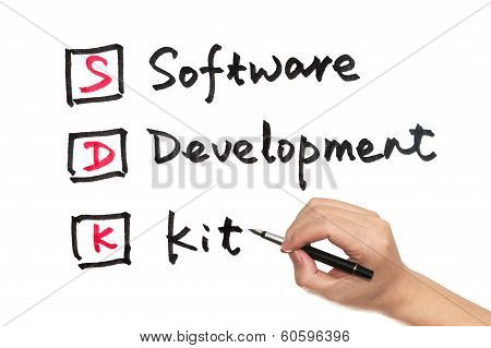 Sdk - Software Development Kit