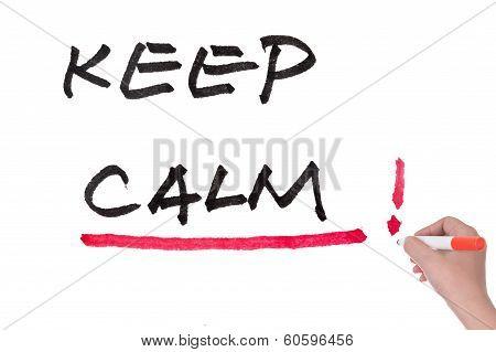 Keep Calm Words