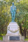 Robert Burns Monument in Golden Gate Park in San Francisco