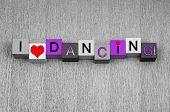 image of jive  - I Love Dancing - JPG